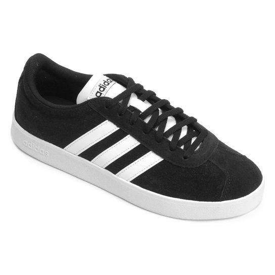 edea7493201 Tênis Adidas Court Masculino - Preto e Branco - Compre Agora