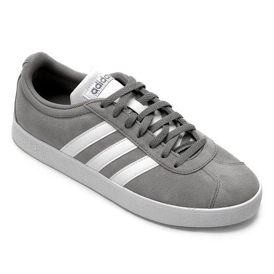 33504018ee5 Tênis Adidas Vl Court 2.0 Masculino - Cinza - Compre Agora