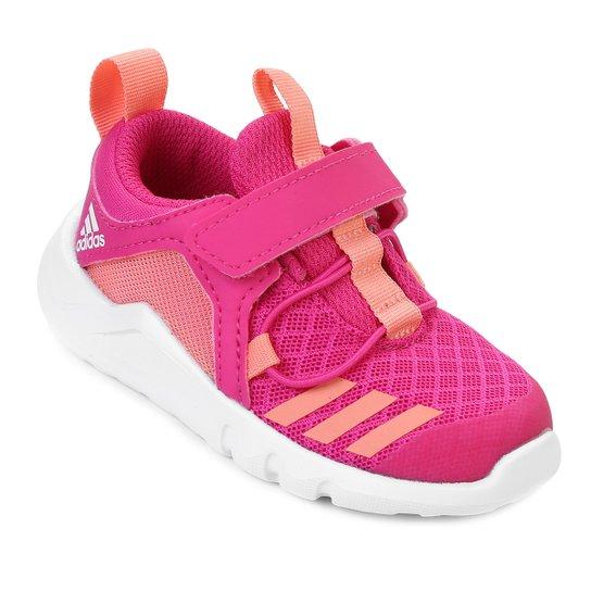 9a0f77f5497 Tênis Infantil Adidas Infantil Rapidaflex 2 El I - Rosa - Compre ...