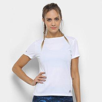 Camisetas Adidas Femininas - Melhores Preços  ff4ec202f85
