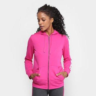 b5dc2a50160 Moletom Adidas Essentials Linear c  Capuz Feminino