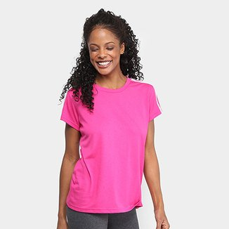 a933050048a79 Camiseta Adidas Essential 3Stripes Feminina