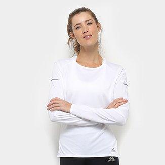 6cb0800a943 Camisetas Adidas Femininas - Melhores Preços