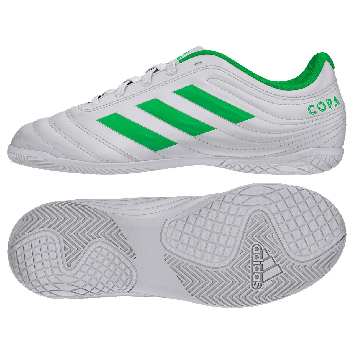 089c594749 Foto 2 - Chuteira Futsal Infantil Adidas Copa 19 4 IN