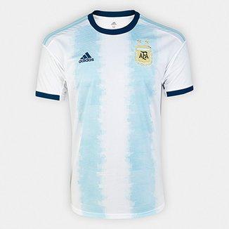 6488870f11 Camisa Seleção Argentina Home 19/20 s/n° Torcedor Adidas Masculina