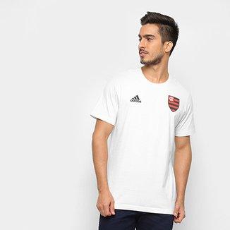 4fd0e92497c Compre Camisa Adidas Branca de Algodao Online