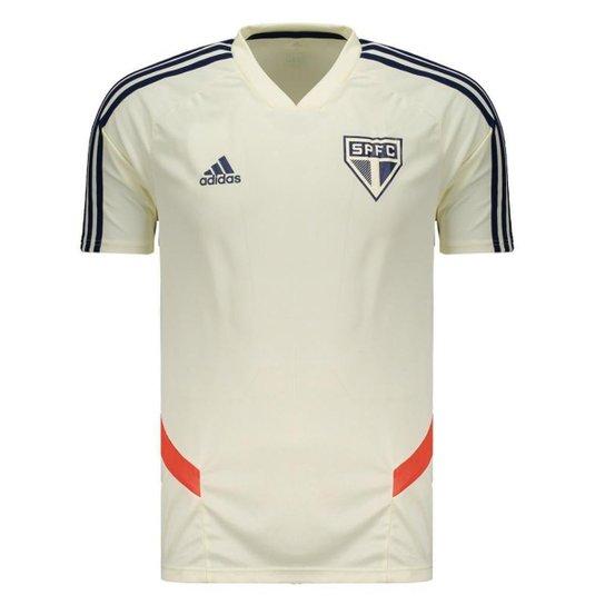 795edcd5a Camisa São Paulo Treino 2019 Adidas Masculina - Branco - Compre ...