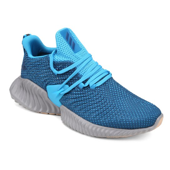 Tênis Adidas Alphabounce Instinct Masculino - Azul e Cinza - Compre ... 99fbb49efbaea