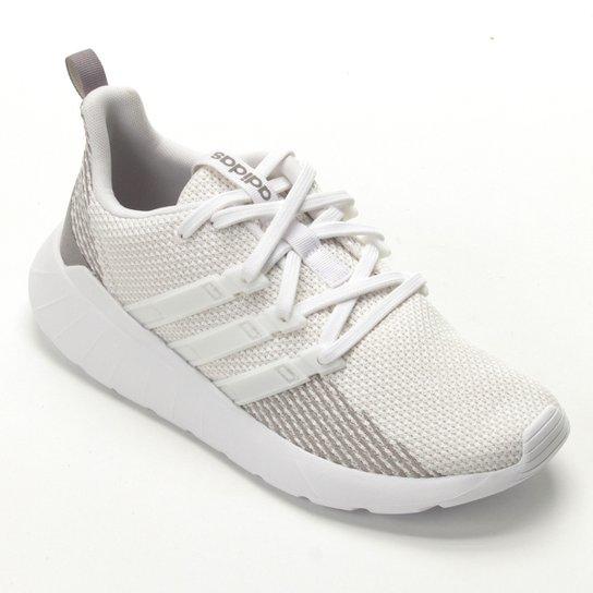 fdfc0a1632c Tênis Adidas Questar Flow Feminino - Branco - Compre Agora