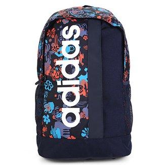 9ddc4d1a47d Mochila Adidas Estampa Floral Lin Core BP Masculina