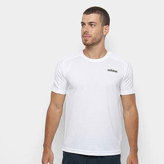 5ac48e6b6 Camiseta Adidas D2M Plain Masculina