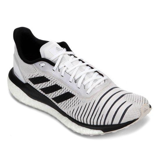 ada78001365 Tênis Adidas Solar Glide Feminino - Branco - Compre Agora