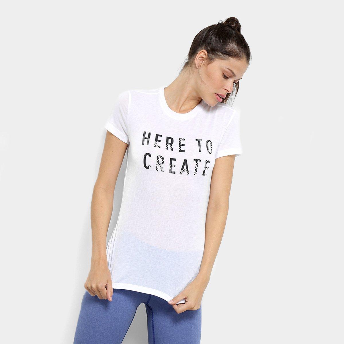337932a791 Camiseta Adidas Logo Tee Ai Feminina