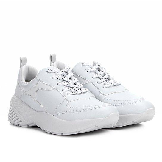 4c2aee6128a Tênis Chunky Ramarim Sneaker Tricolor Feminino - Branco - Compre ...