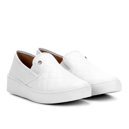 458869a51 Slip On Ramarim Matelassê Feminino - Branco - Compre Agora