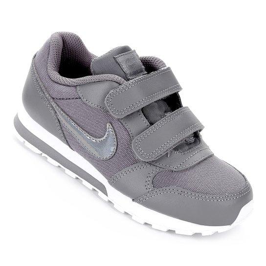 c6652f4fe94f8 Tênis Infantil Nike Md Runner 2 Feminino - Cinza e Branco | Netshoes