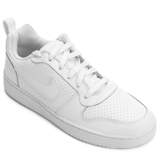 Tênis Couro Nike Recreation Low Feminino - Branco - Compre Agora ... cc1ca2fa90
