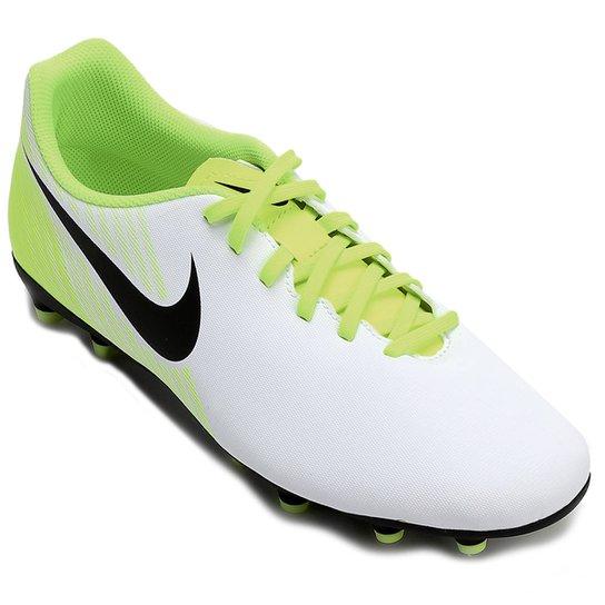 ebb61e24ed Chuteira Campo Nike Magista Ola II FG - Branco+Verde