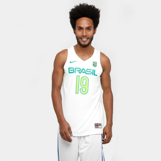 Camiseta Regata Nike Brasil Jersey Leandro Barbosa - Compre Agora ... bb58040c2c38a