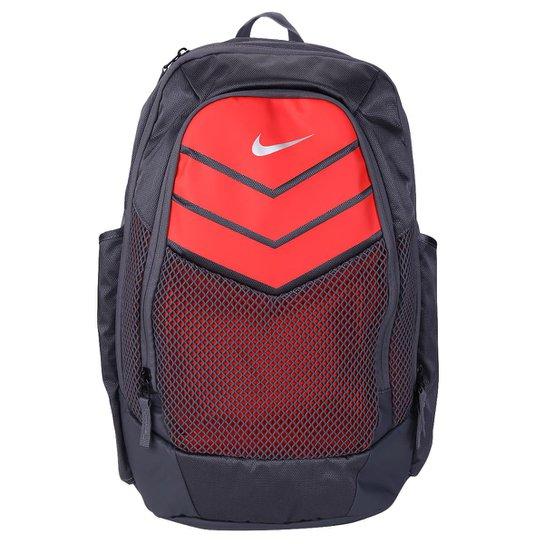 3ac080d262b9a Mochila Nike Vapor Power Backpack Masculina - Cinza+Vermelho