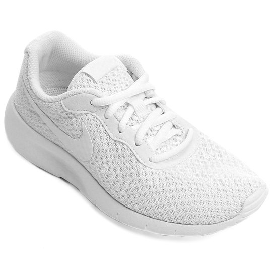 dc9210f0209 Tênis Infantil Nike Tanjun Masculino - Branco - Compre Agora