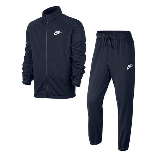 Agasalho Nike Trk Suit Pk Basic Masculino - Marinho - Compre Agora ... 98af288617fa3