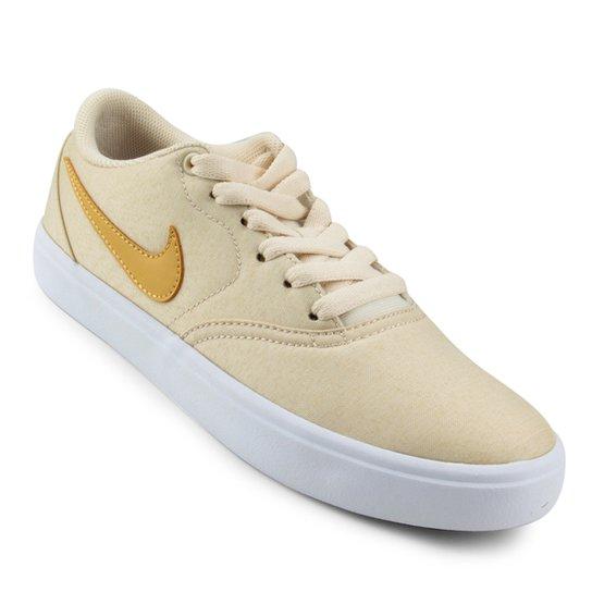 a53542453c3b Tênis Nike Wmns Sb Check Solar Cvs P Feminino - Amarelo - Compre ...
