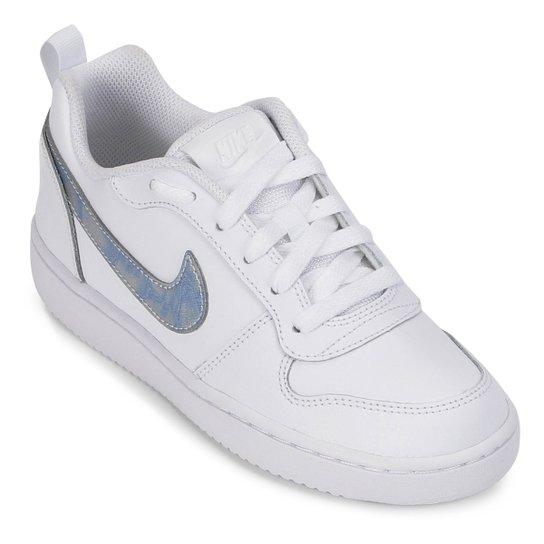 393203a746b Tênis Infantil Nike Court Borough Low Feminino - Branco - Compre ...