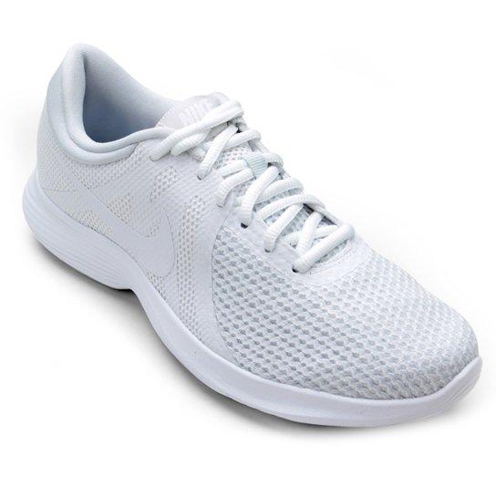 b4217b357cfbc Tênis Nike Wmns Revolution 4 Feminino - Branco - Compre Agora