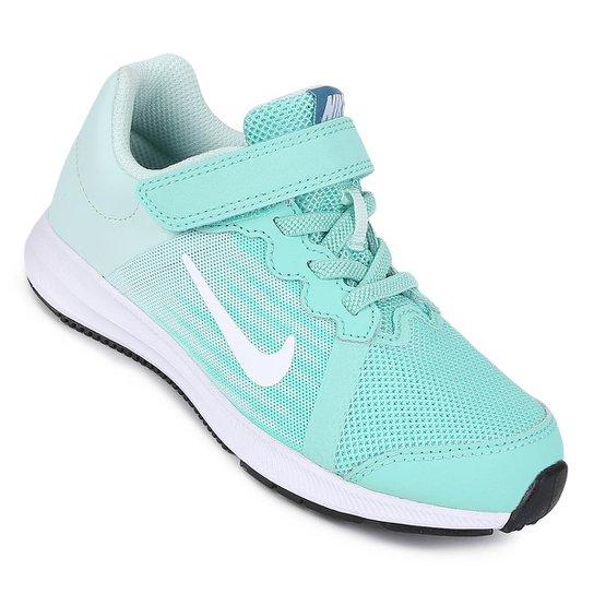 e1a0e5bb19147 Tênis Infantil Nike Downshifter 8 Feminino - Verde água | Netshoes