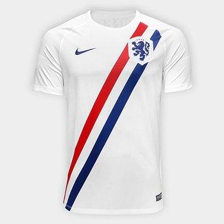 Camisa Seleção Holanda Nike Dry Squad SS Masculina 43f078b894b2e