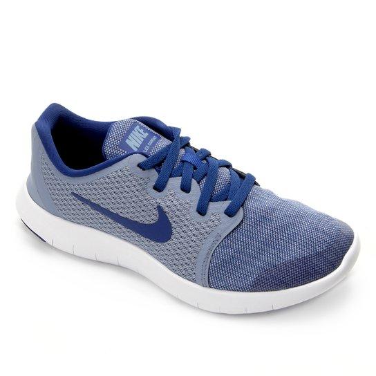 656013edce639 Tênis Infantil Nike Flex Contact 2 - Azul Claro e Branco - Compre ...