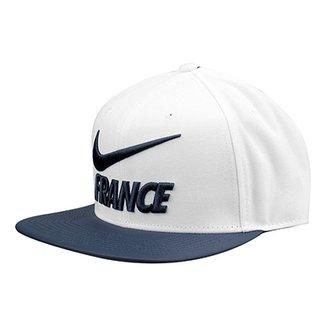 Boné Seleção França Nike Pro Aba Reta b1c77a556fe
