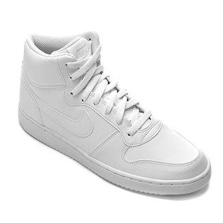 Tênis Couro Cano Alto Nike Ebernon Mid Masculino f0b6620700d52