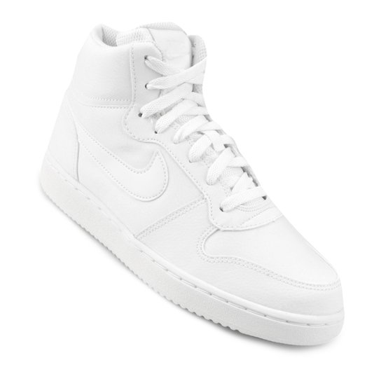 Tênis Cano Alto Nike Ebernon Mid Feminino - Branco - Compre Agora ... 837b0ffde0f58