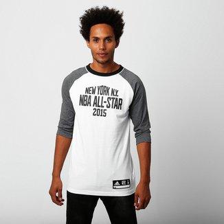 6192c96b1a Camiseta Adidas NBA Allstar New York City Shooter 3 4