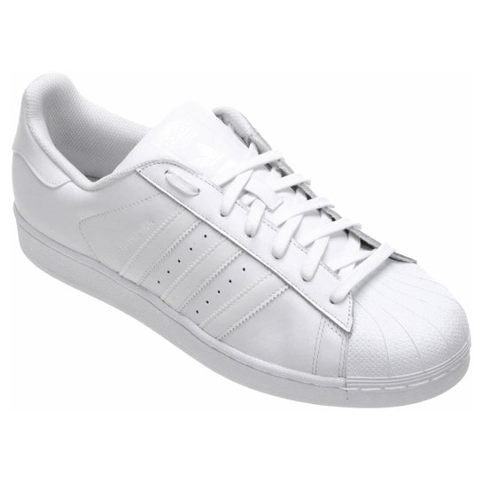 7eacc21dc Tênis Couro Adidas Superstar Foundation Masculino | Netshoes