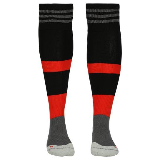 Meião Adidas Flamengo - Preto+Vermelho eaf18d79733d0