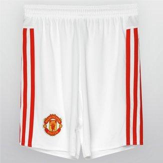 342cc98430963 Calção Adidas Manchester United Home 15 16 Infantil