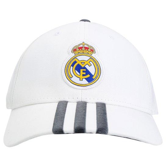 Boné Adidas Real Madrid 3S - Compre Agora  3623e6c3cf5
