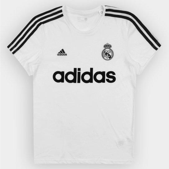 Camiseta Adidas Real Madrid Retrô - Compre Agora  deb9e257f78a9