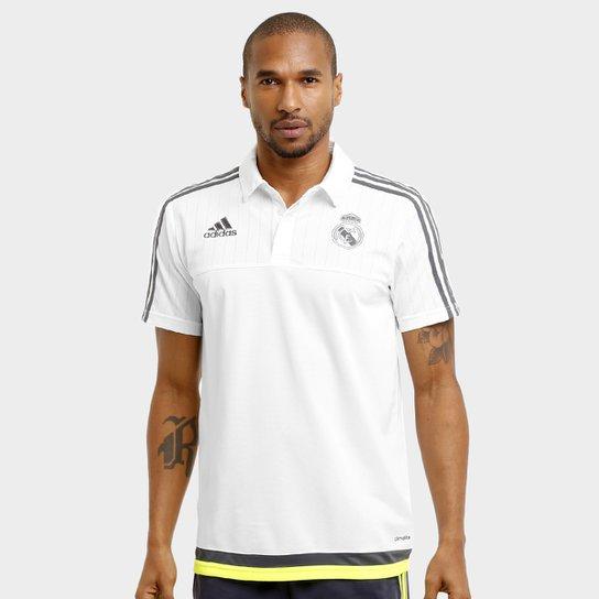 bb73517224 Camisa Polo Real Madrid Adidas Viagem Masculina   Netshoes