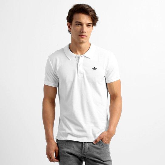 96eb5e2b47 Camisa Adidas Originals Adi Polo Pique - Branco - Compre Agora ...