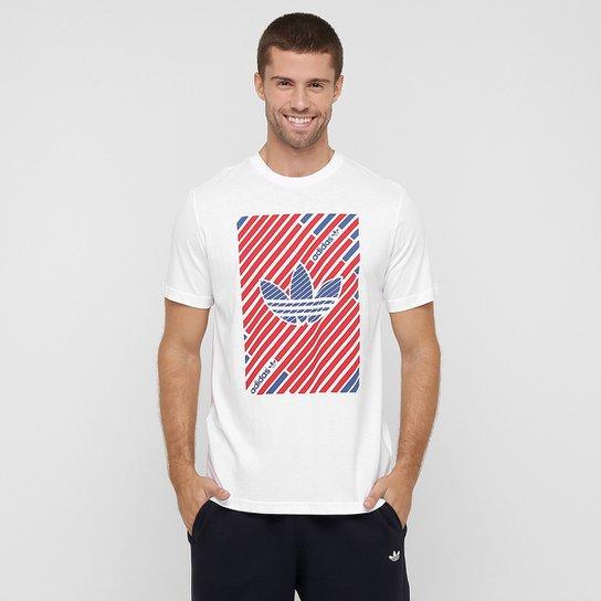 Camiseta Adidas Originals Stripes Trefoil - Compre Agora  bf30f07ec733e
