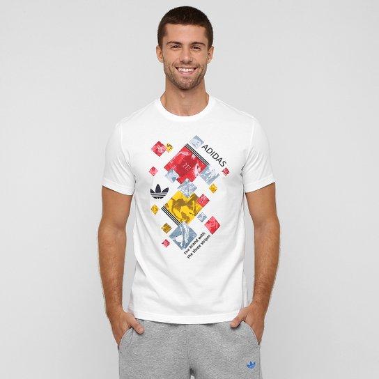 Camiseta Adidas Originals Running Collage - Compre Agora  9226a7b8e40e5
