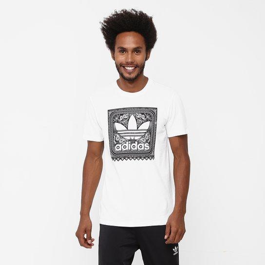 6fac7e8a77d Camiseta Adidas Originals Blackbird Paisley - Compre Agora