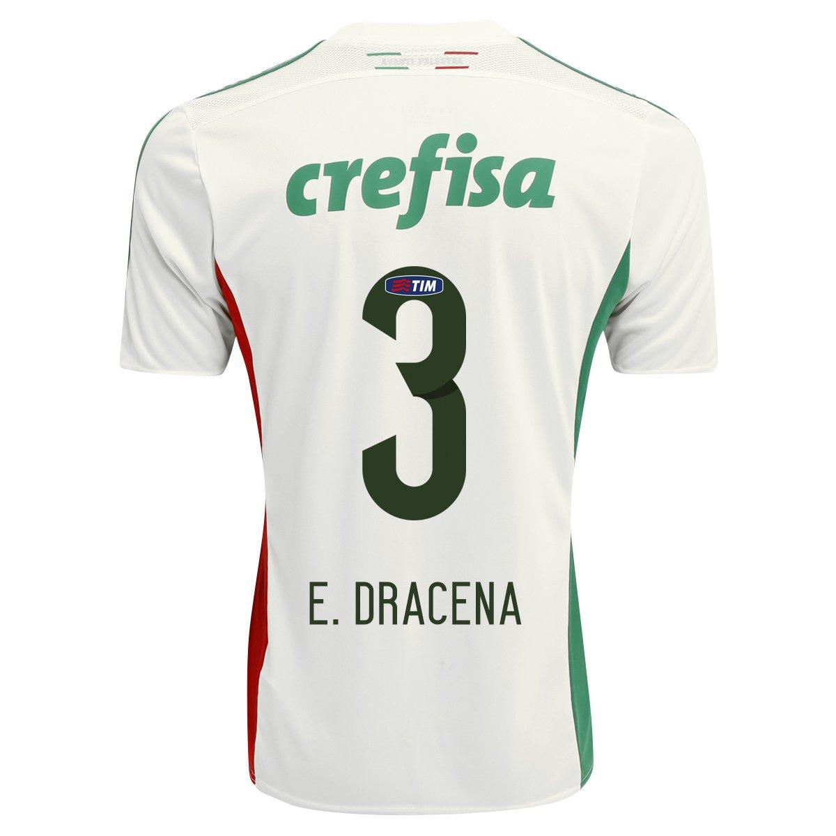 Camisa Adidas Palmeiras II 15 16 nº 3 - E. Dracena 007713f53ff12