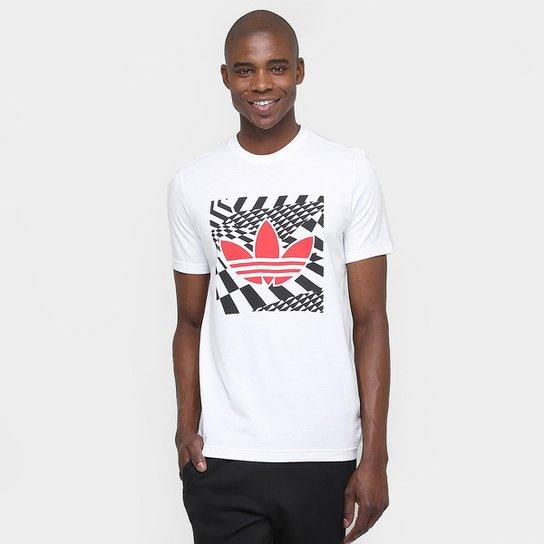 c843365b68b Camiseta Adidas Originals Illusion Trefoil - Compre Agora
