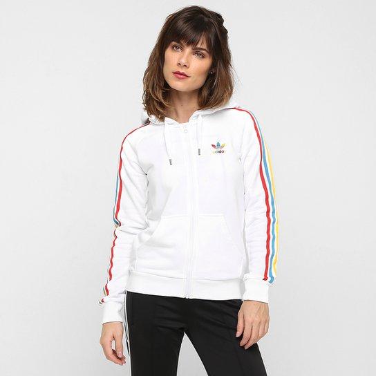e8c9d1f9a68a0 Moletom Adidas Originals Slim Zip Hdy c  Capuz - Compre Agora