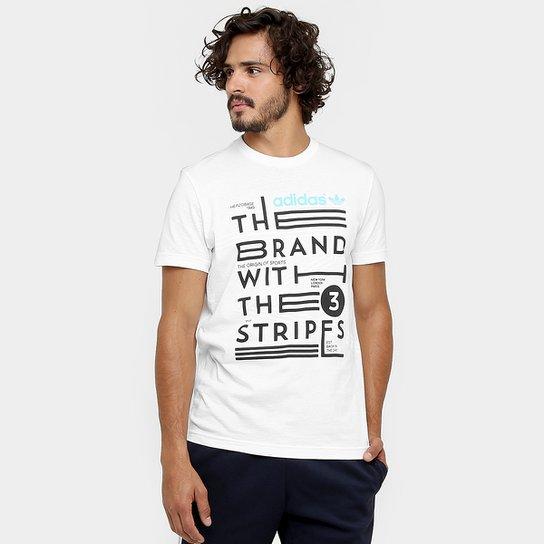 Camiseta Adidas Slogan - Compre Agora  fb31d42a58bb0